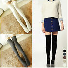 CHIC Sexy Women Girl Thigh High OVER the KNEE Socks Cotton Stockings 5 Colors