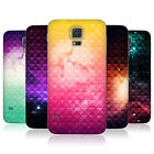 HEAD CASE PRINTED STUDDED OMBRE BATTERY DOOR COVER FOR SAMSUNG GALAXY S5
