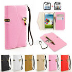 Fashion Flip Leather Wallet Card Slot Case Cover for Samsung Galaxy S4 i9500