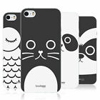 HEAD CASE CARTOON ANIMAL FACES SERIES 1 TPU REAR CASE COVER FOR APPLE iPHONE 5S