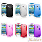 S Line TPU Silicone Skin Rubber Case Cover Gel For Samsung Galaxy S Duos S7560
