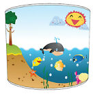 Under The Sea Childrens Lamp Shade Ideal To match Childrens Duvets Bedding