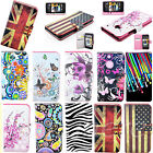 Folding Magnetic Wallet Cards Phone Flip Leather Skin Case Cover For HTC ONE M7