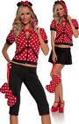 Adult Miss Mouse Halloween Costume Disney Mickey Minnie Sexy Dress Up