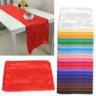 Stain Table Runners 275x30CM Wedding Banquet Dinner Party Decoration 1/5/10PCs