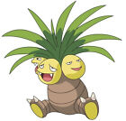 "5-8""  POKEMON EXEGGUTOR ANIME CHARACTER  WALL STICKER GLOSSY BORDER CUT OUT"