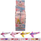 Children Kids Pretty Girls Pink Flying Fairy Gliders Planes Party Bag Filler Toy