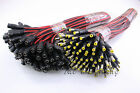 Lots Male&Female 2.1 x 5.5 DC Power Plug Connector Cable Wire for CCTV DVR Camer