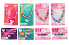 HELLO KITTY Accessory NECKLACE+BRACELET Large Round Beads w/Charms *YOU CHOOSE*