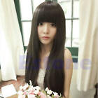 New Fashion Cute Long Straight Women Girl Full Hair Wig Costume Party Cosplay