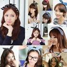 Hot Fashion Cute Multicolor Korean Girl Bunny Ear Headband Rabbit Ear Hair Band