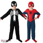 FANCY DRESS COSTUME ~ BOYS MARVEL 2 IN 1 ULTIMATE SPIDERMAN AGES 3-8 YEARS