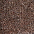 Brown Canterbury Heavy Contract Ribbed Carpet, Hard Wearing 4m Wide Matting