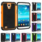 For Samsung Galaxy Mega 6.3 Hybrid Rugged Shockproof Matte Case Cover