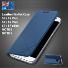 Leather Wallet Card Flip Case Cover for Samsung Galaxy S8 plus S7 edge Note 8 AU
