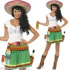 Ladies Sexy Mexican Tequila Shot Shooter Girl Fancy Dress Party Costume Outfit
