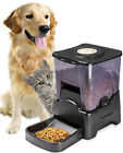 OxGord Automatic Pet Feeder Dog Cat Programmable Animal Food Bowl Auto Dispenser