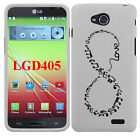 For LG Optimus L90 D405 D415 Forever Young Snap On HARD Case Cover Accessory