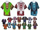 DASHIKI SHIRT PONCHO MEXICAN AFRICAN HIPPY FREESIZE