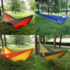 Travel Camping Outdoor Nylon Fabric Hammock Parachute Bed for Double Person