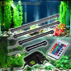 New RGB Remote 12V LED Aquarium Fish Tank Light Lighting Underwater Submersible