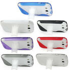 1PCS Clear TPU GEL Case Cover Skin With Stand for Samsung i9300 Galaxy S 3 SIII