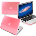 """fit Macbook Pro 15"""" A1286 (Candy Pink Color) Crystal See Thru Hard Case cover"""