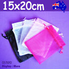 Organza Bag Jewellery Gift Pouch | 100pcs | 15 X 20cm Large | Aussie Seller