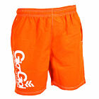 GIO GOI SWIM SHORTS APPROXIMATE ORANGE MENS WITH MESH LINING