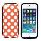 Polka Dot Phone Case High Quality Plastic Cover for iPhone 5 5s 5G Fashion New