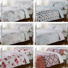 Hummingbird Cotton Duvet Quilt Cover Bedding Set New Contemporary Reversible