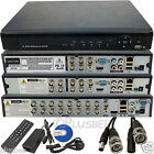 4 8 16 CH HDMI Full D1 960H H264 CCTV Digital Video Reorder DVR & BNC Power Lead