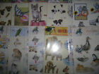 2x A4 Non Die Cut Cardmaking Decoupage Sheet Wildlife & Animals Various Designs
