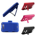 For LG Connect Viper 4G MS840 LS840 Holster Combo Hard Cover Kickstand Case