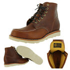 "Chippewa 95591 Men's 6"" Carpenter Boots Vibram Made in USA 2E Wide"