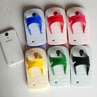 Candy Colors Flip-Flop Slipper Silicone Cover Case for samsung 9300/9500 DSKWEUM