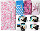 For LG G3 Leather Premium Wallet Case Pouch Flip Phone Cover + Screen Protector
