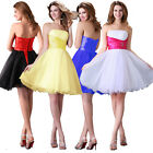 Sexy Homecoming Graduation Party Prom Ball Gowns Cocktail Short Bridesmaid Dress