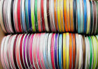 "38mm 50mm 75mm 100mm Mixed Grosgrain Ribbon 1 1/2"" 2"" 3"" 4"" Eco Heavy Sample"