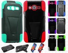 For Samsung Galaxy Avant Advanced HYBRID KICK STAND Case Cover + Screen Guard