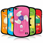 HEAD CASE TOY GADGETS HYBRID TPU CASE COVER FOR APPLE iPHONE 4