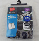 Hanes Classics Boys' Guitars Boxer Briefs Comfort Flex Waist 2-Pack