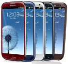 Samsung Galaxy S III SGH-I747 -16GB AT&T (Unlocked) Smartphone-WHITE-BLUE-RED B