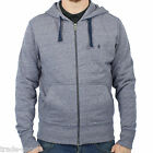 ORIGINAL PENGUIN MENS SECRET SAM MEDIUM BLUE MELANGE HOODIE M L XL XXL FULL ZIP