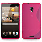 SLIM FITTED S-CURVE RUBBER GEL CASE COVER FOR HUAWEI ASCEND MATE 2 MOBILE PHONE