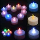 New 10 / 20 / 30 PCS LED WEDDING TEA LIGHT TEALIGHT CANDLE FLICKERING FLAMELESS