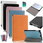 For iPad mini with Retina Display PU Leather Folio Case Sleep Wake Stand Cover