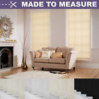 MADE TO MEASURE VERTICAL BLINDS - HIGH QUALITY COMPLETE BLIND SET
