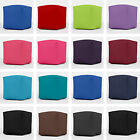 100% Cotton Drill Cube Foot Stool Seat Pouffe Bean Bag Beanbag With Filling
