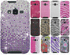 For Samsung Galaxy Rugby Pro i547 Crystal Diamond BLING Hard Case Cover